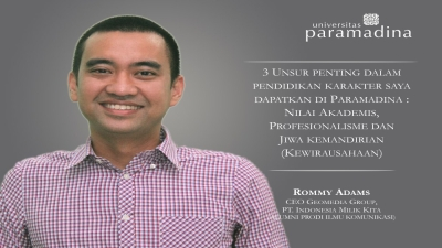 Rommy Adams: CEO Geomedia Group, PT. Indonesia Milik Kita