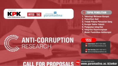 Anti-Corruption Research - Call for Proposals
