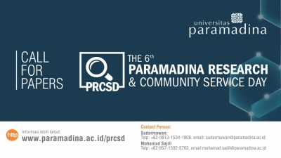 The 6th Paramadina Research and Community Service Day (PRCSD)